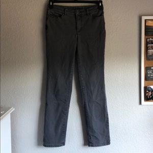 Charter Club Faded Gray Skinny Jeans Size 0